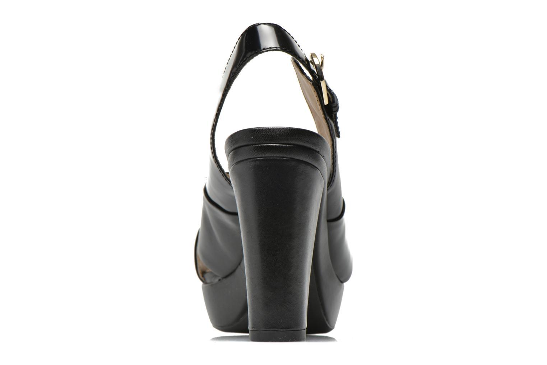 Sandali e scarpe aperte Geox D HERITAGE B D62R1B Nero immagine destra