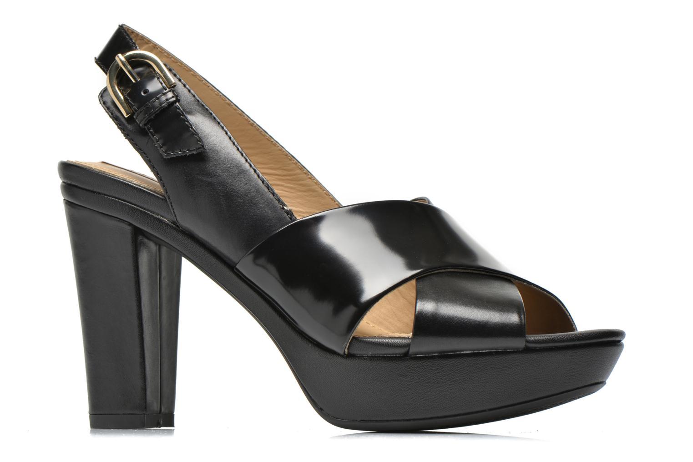Sandali e scarpe aperte Geox D HERITAGE B D62R1B Nero immagine posteriore