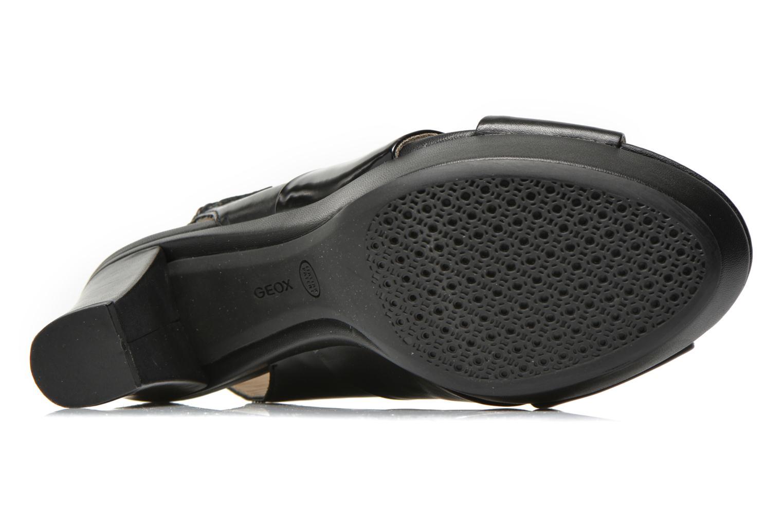Sandali e scarpe aperte Geox D HERITAGE B D62R1B Nero immagine dall'alto