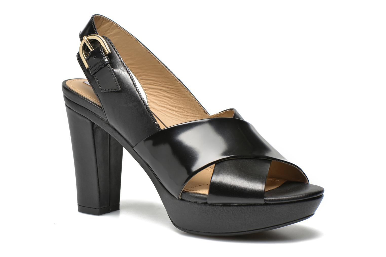 Grandes descuentos últimos zapatos Geox D HERITAGE B D62R1B (Negro) - Sandalias Descuento