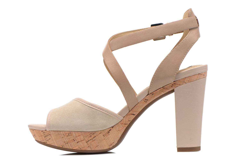 Sandales et nu-pieds Geox D HERITAGE A D62R1A Beige vue face
