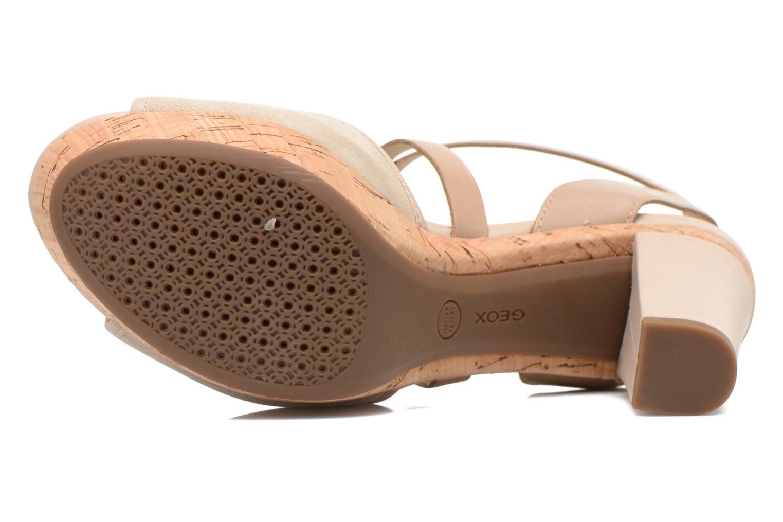Sandales et nu-pieds Geox D HERITAGE A D62R1A Beige vue haut