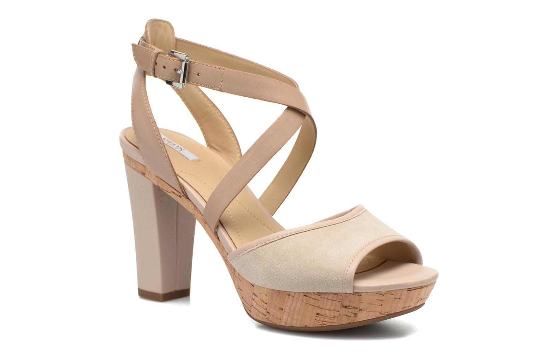 Sandales et nu-pieds Geox D HERITAGE A D62R1A Beige vue détail/paire