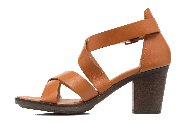 Sandales et nu-pieds P-L-D-M By Palladium Getty Frl Marron vue face