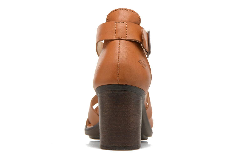 Sandales et nu-pieds P-L-D-M By Palladium Getty Frl Marron vue droite