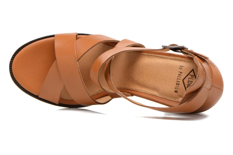 Sandales et nu-pieds P-L-D-M By Palladium Getty Frl Marron vue gauche