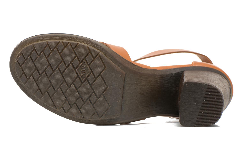 Sandales et nu-pieds P-L-D-M By Palladium Getty Frl Marron vue haut