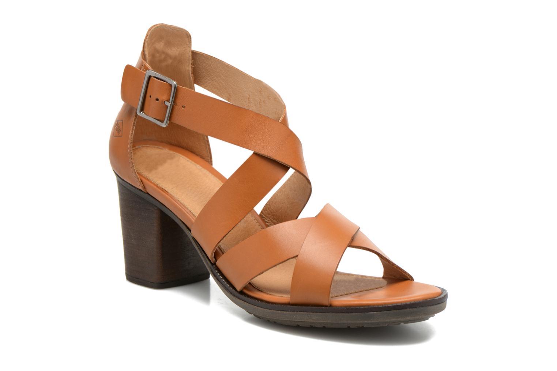 Sandales et nu-pieds P-L-D-M By Palladium Getty Frl Marron vue détail/paire