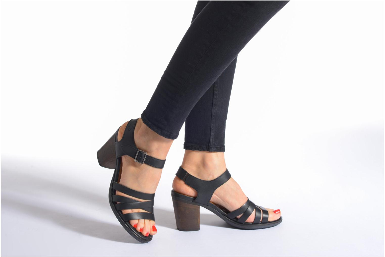Sandales et nu-pieds P-L-D-M By Palladium Gaya Frl Marron vue bas / vue portée sac