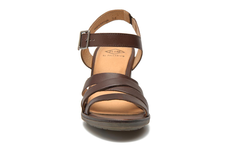 Sandales et nu-pieds P-L-D-M By Palladium Gaya Frl Marron vue portées chaussures