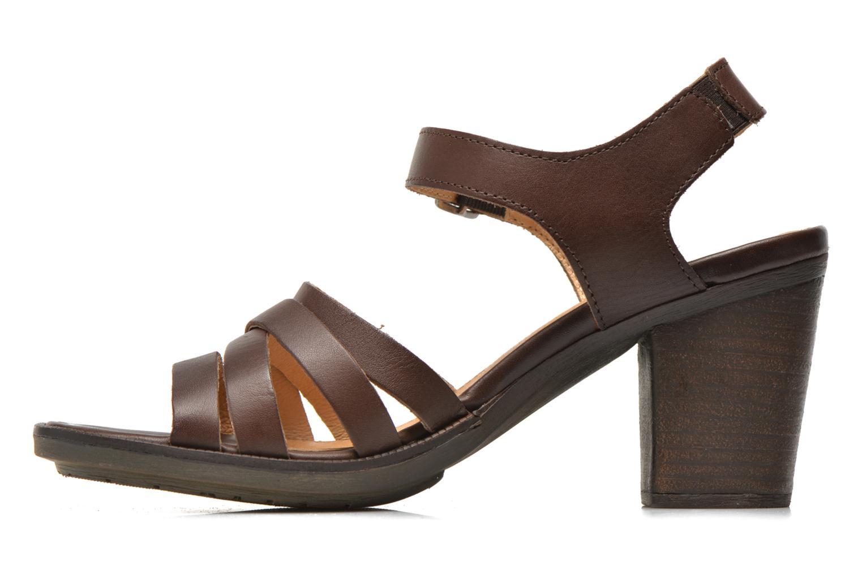 Sandales et nu-pieds P-L-D-M By Palladium Gaya Frl Marron vue face