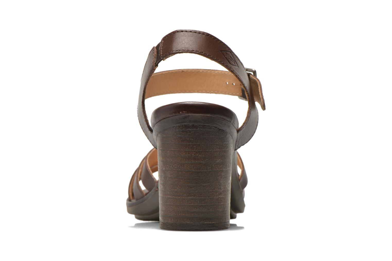 Sandales et nu-pieds P-L-D-M By Palladium Gaya Frl Marron vue droite