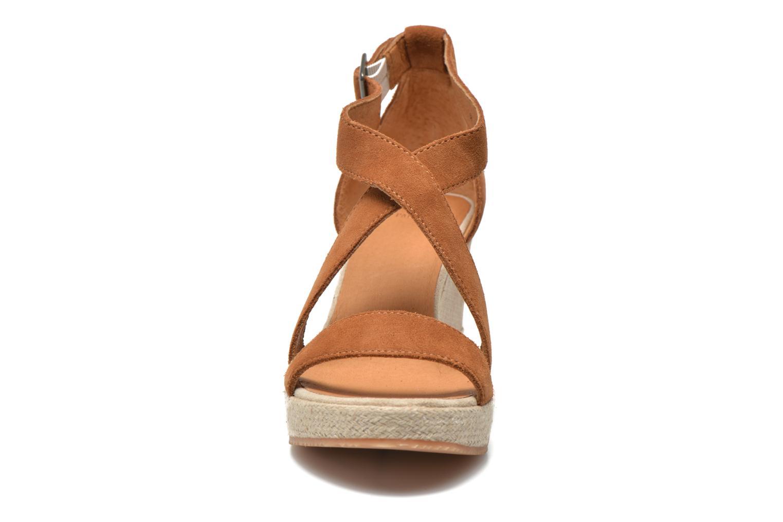 Sandales et nu-pieds P-L-D-M By Palladium Wellton Sud Marron vue portées chaussures