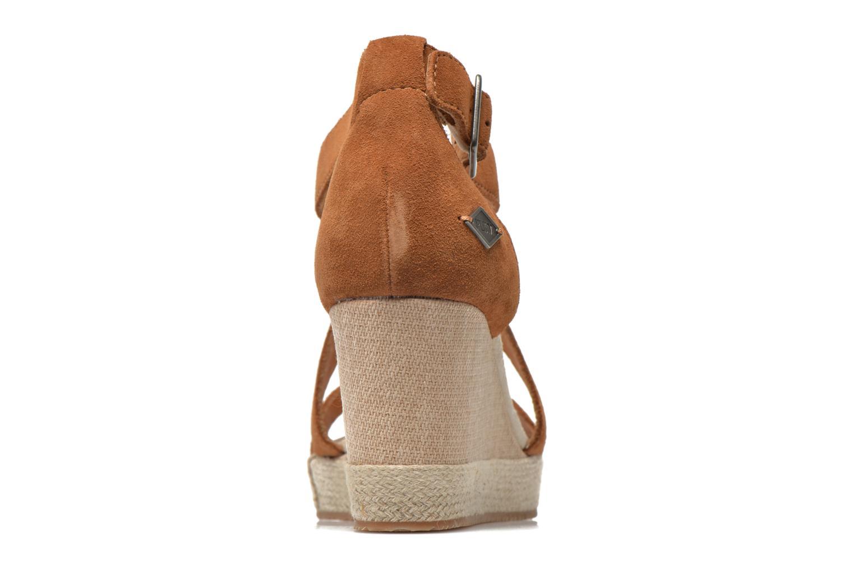 Sandales et nu-pieds P-L-D-M By Palladium Wellton Sud Marron vue droite