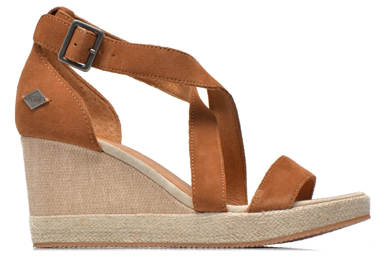 Sandales et nu-pieds P-L-D-M By Palladium Wellton Sud Marron vue derrière
