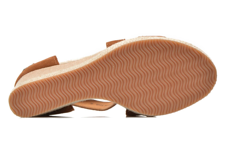 Sandales et nu-pieds P-L-D-M By Palladium Wellton Sud Marron vue haut