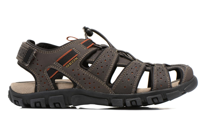 Sandales et nu-pieds Geox U S.STRADA B U6224B Marron vue derrière