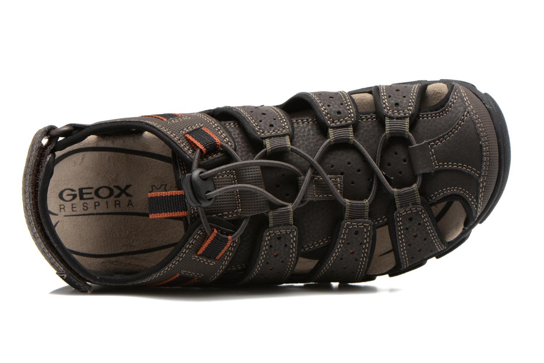 Sandales et nu-pieds Geox U S.STRADA B U6224B Marron vue gauche