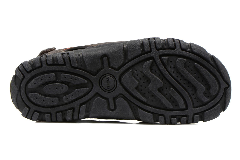 Sandales et nu-pieds Geox U S.STRADA B U6224B Marron vue haut
