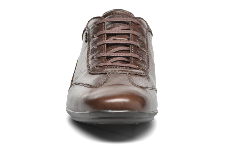 Baskets Geox U EFREM A U620UA Marron vue portées chaussures