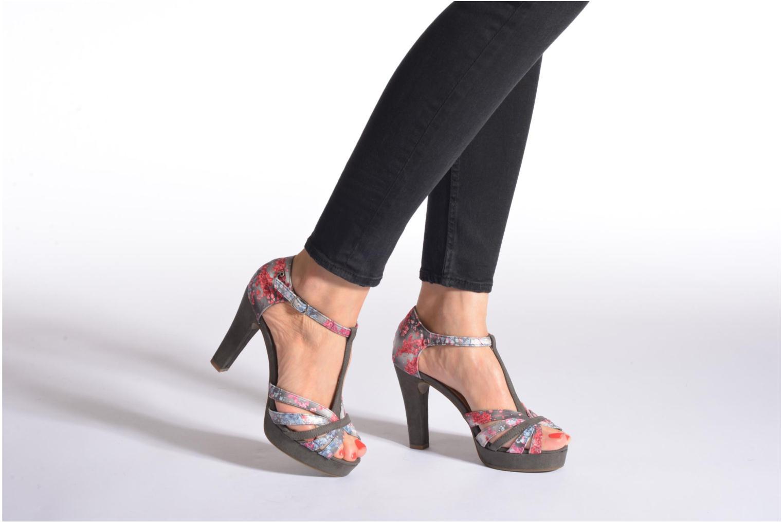Sandales et nu-pieds Refresh Princesse 61769 Gris vue bas / vue portée sac