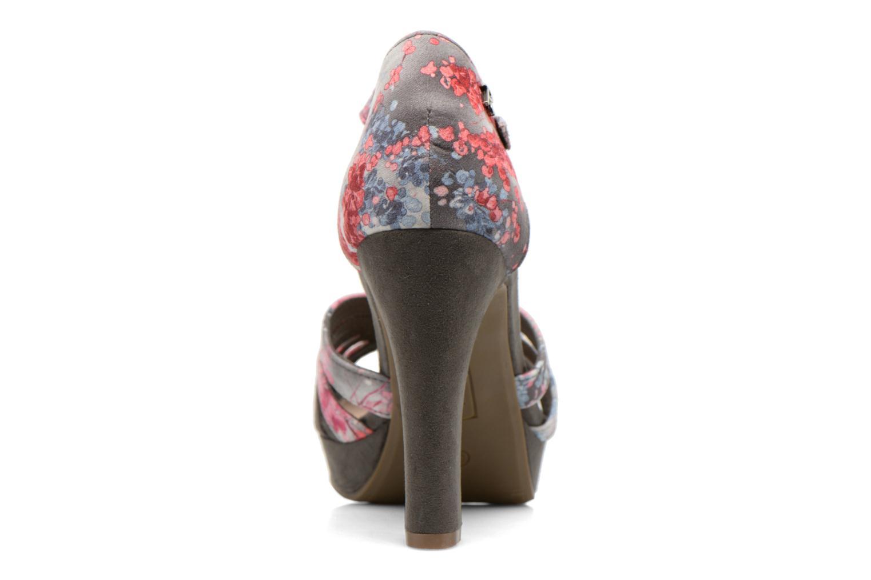 Sandales et nu-pieds Refresh Princesse 61769 Gris vue droite