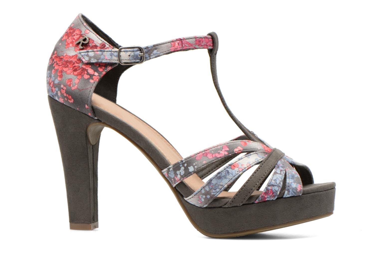 Sandales et nu-pieds Refresh Princesse 61769 Gris vue derrière