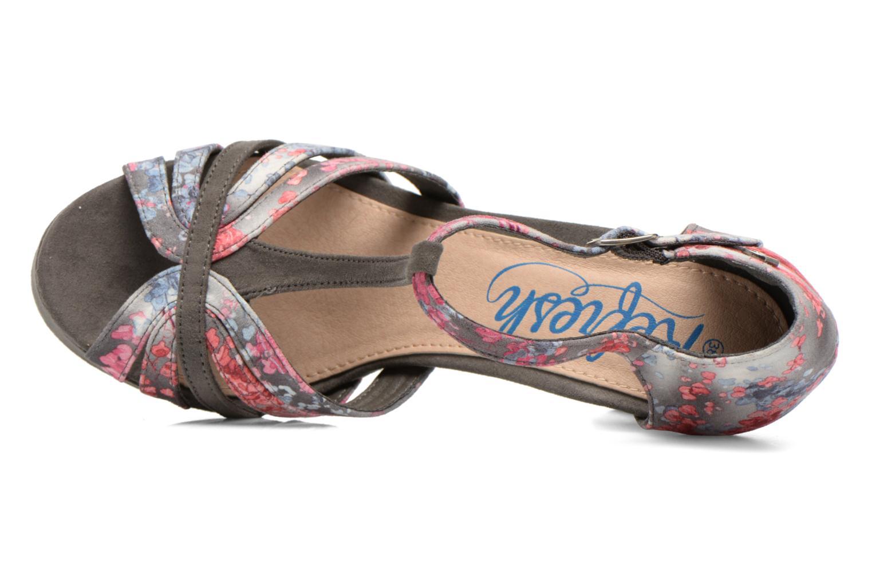 Sandales et nu-pieds Refresh Princesse 61769 Gris vue gauche