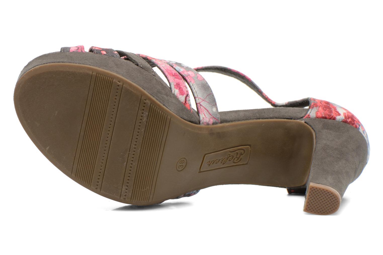 Sandales et nu-pieds Refresh Princesse 61769 Gris vue haut