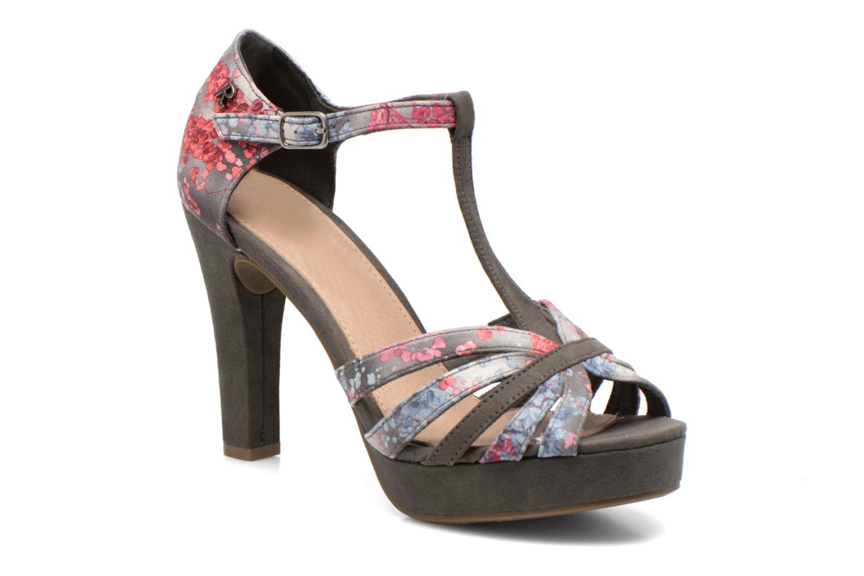 Sandales et nu-pieds Refresh Princesse 61769 Gris vue détail/paire