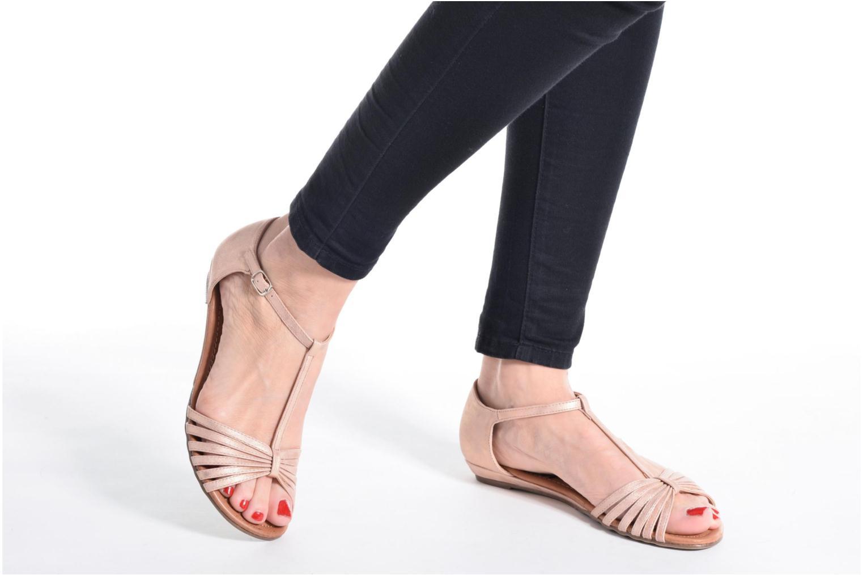 Sandales et nu-pieds Refresh Casey 61767 Rose vue bas / vue portée sac