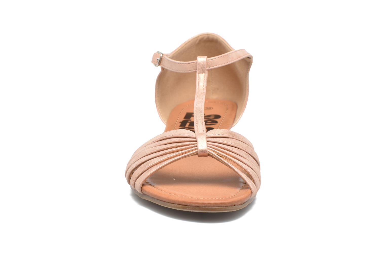 Sandales et nu-pieds Refresh Casey 61767 Rose vue portées chaussures