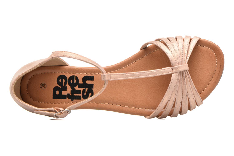 Sandales et nu-pieds Refresh Casey 61767 Rose vue gauche