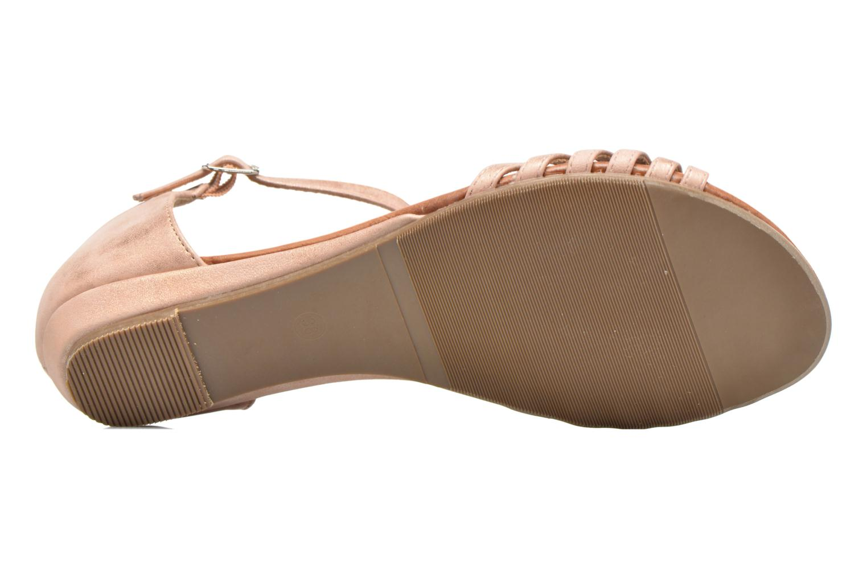 Sandales et nu-pieds Refresh Casey 61767 Rose vue haut
