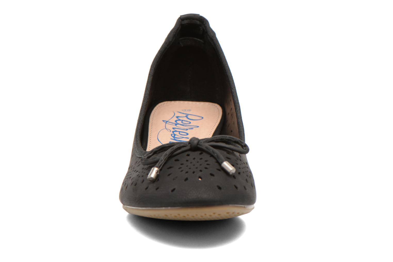 Escarpins Refresh Lumos 61726 Noir vue portées chaussures