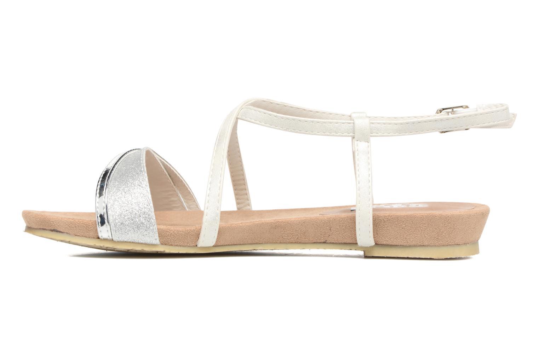 Sandales et nu-pieds Refresh Transat 62015 Argent vue face