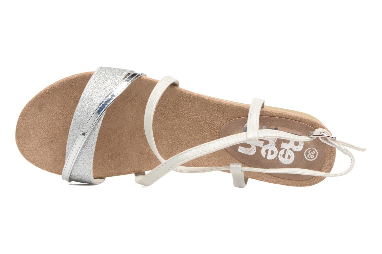 Sandales et nu-pieds Refresh Transat 62015 Argent vue gauche