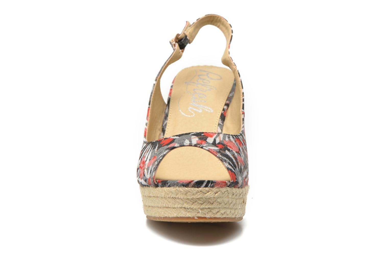 Sandales et nu-pieds Refresh Aurore 62012 Multicolore vue portées chaussures