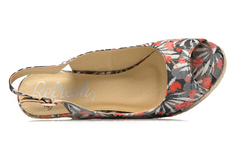 Sandales et nu-pieds Refresh Aurore 62012 Multicolore vue gauche