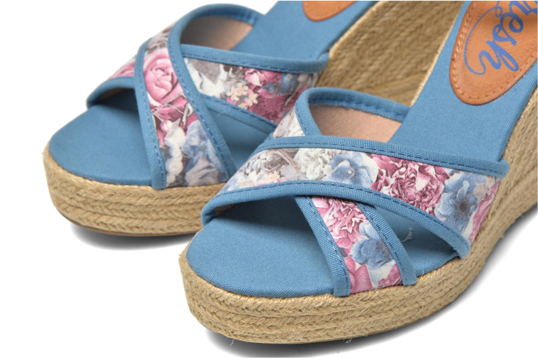 Sandales et nu-pieds Refresh Papaye 61717 Multicolore vue 3/4