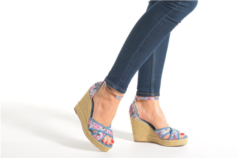 Sandales et nu-pieds Refresh Papaye 61717 Multicolore vue bas / vue portée sac