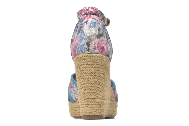 Sandales et nu-pieds Refresh Papaye 61717 Multicolore vue droite