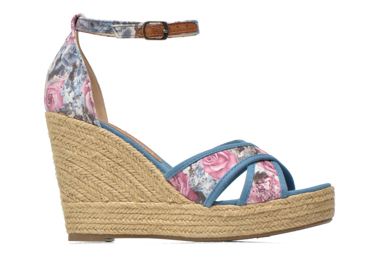 Sandales et nu-pieds Refresh Papaye 61717 Multicolore vue derrière