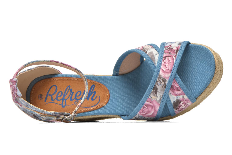 Sandales et nu-pieds Refresh Papaye 61717 Multicolore vue gauche