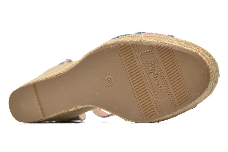 Sandales et nu-pieds Refresh Papaye 61717 Multicolore vue haut