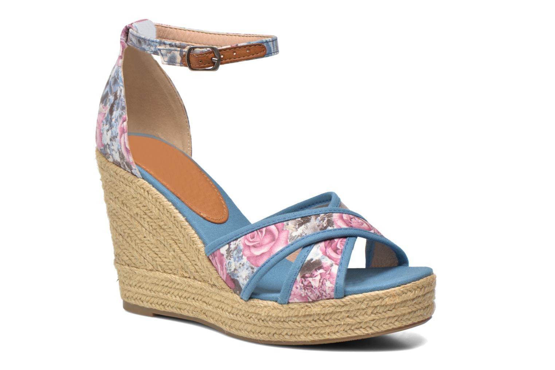 Sandales et nu-pieds Refresh Papaye 61717 Multicolore vue détail/paire