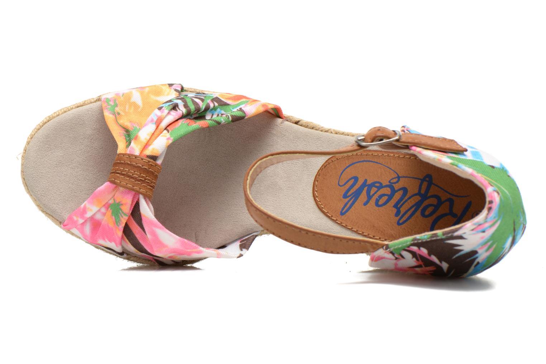 Sandales et nu-pieds Refresh Goyave 61719 Multicolore vue gauche