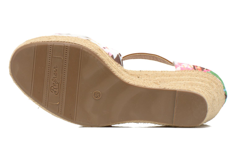 Sandales et nu-pieds Refresh Goyave 61719 Multicolore vue haut