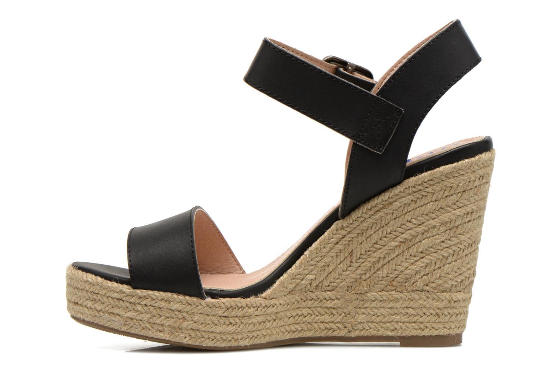 Sandales et nu-pieds Refresh Corail 61772 Noir vue face