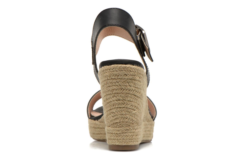 Sandales et nu-pieds Refresh Corail 61772 Noir vue droite